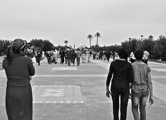 Marrakech (Adel Ka) Tags: blackandwhite bw morocco maroc marrakech menara