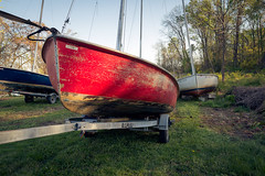 Marina, Bell Haven, 2012 (Andrew-Benson) Tags: alexandria sailboat virginia trailer potomacriver artomatic bellhavenmarina