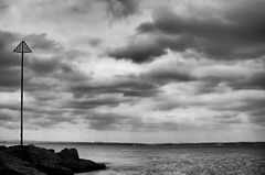 DSC_0475 (Mark J Hall) Tags: longexposure sea seascape clouds landscape cloudy slowshutter 2012 gosport markhall stokesbay thesolent bw10stopndfilter leendfilter