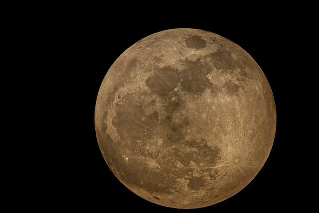 Super Full Moon 5th May, 2011
