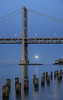 Super Size It  (Panorama) (Darvin Atkeson) Tags: sanfrancisco california street bridge panorama moon port print bay pacific suspension market may large super moonrise massive baybridge embarcadero area mission moonlight 5th darvin darv liquidmoonlightcom lynneal supermoon