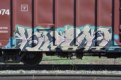 Kwen (Penny Media Productions) Tags: graffiti edmonton ali alberta cassiusclay cnrail thegreatest kevinpenny pennymediaproductions