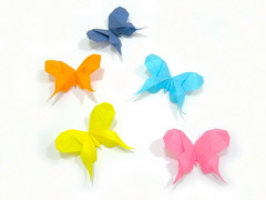 Butterfly (Al3bbasi.) Tags: butterfly paper insect origami al3bbasi