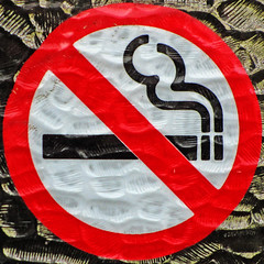 No smoking (Leo Reynolds) Tags: sign canon iso100 is powershot squaredcircle f56 signsafety 48mm signno 0008sec sx210 hpexif signnosmoking signcirclebar xleol30x sqset080