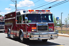 Wissahickon Fire Company Squad 7 (Triborough) Tags: rescue pennsylvania firetruck pa fireengine squad wfc fortwashington montgomerycounty eone squad7 wissahickonfirecompany