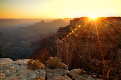 sunset at cape royal in grand canyon (houstonryan) Tags: park sunset arizona dark ryan north parks houston grand canyon system national after rim houstonryan maybegettyjuly2012