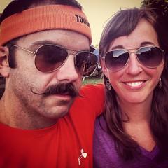 Chris and Valerie Phebus at picnic