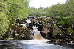 Cascade (etienne65) Tags: ireland nature water river landscape nikon rocher donegal irlande codonegal d90