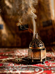 Incense  (Madeeha Al-Hussayni) Tags: love beauty metal poetry poem smoke arabic rug spirituality middle decor eastern sufi sufism incense scent rumi madeeha bakhour