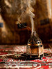 Incense بخور (Madeeha Al-Hussayni) Tags: love beauty metal poetry poem smoke arabic rug spirituality middle decor eastern sufi sufism incense scent rumi madeeha bakhour