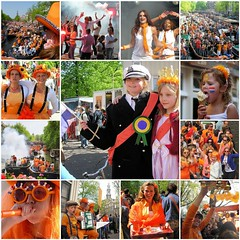 My best of Queensday (Bn) Tags: street girls party feest people music orange holiday holland church boys water netherlands beer colors dutch amsterdam
