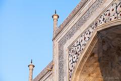 Mausoleum Marble 2221 (Ursula in Aus) Tags: india architecture taj tajmahal marble earthasia