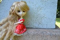 Texas, mon amricaine  l'air de princesse <3 (Fleur d' Amthyste) Tags: doll princess yeux pullip bleus tiphona