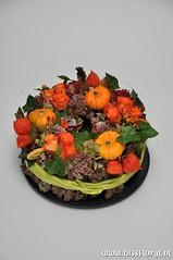 #Gezellig #Taartje... (floralworkshops) Tags: lampion pompoen sedum