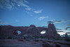 The Windows before dawn (mattsj1984) Tags: northwindowarch parks southwindowarch archesnationalpark nationalparks
