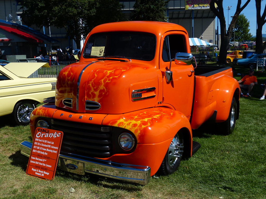The Worlds Newest Photos Of Coe And Goodguys Flickr Hive Mind 1954 Ford Truck Big Orange 49 Bballchico Tags 1949 F6coe