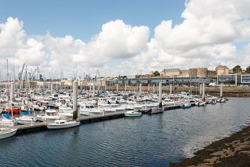 Marina du Château à Brest