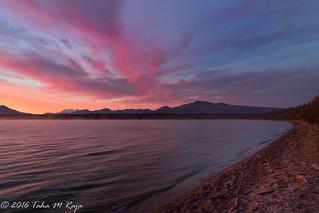 Coastline Sunrise at Brooks Camp