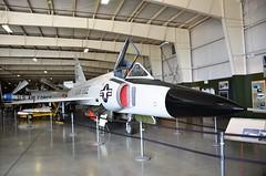 F-102A Delta Dagger, U. S. Air Force (57-833) Hill Air Force Base, Utah, Hill Aerospace Museum (EC Leatherberry) Tags: usairforce fighteraircraft military aircraft 1957 convairaircraft f102 staticdisplay hillairforcebase utah hillaerospacemuseum