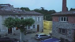 Place de l'ancienne Bascule - Probelauf (sopran) Tags: france lumix timelapse aude gf1 cennemonesties