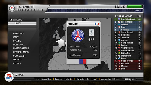 EA SPORTS Football Club: Map PSG