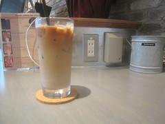 カフェラテ@cafe eight(桜台)
