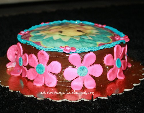 Detalhe bolo chocolate Fifi by Osbolosdasmanas