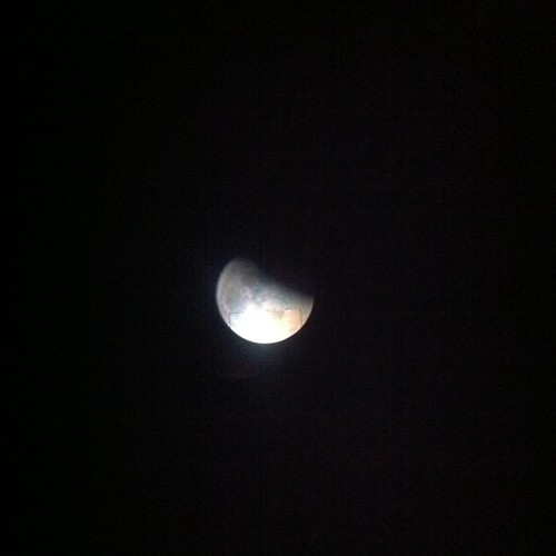 25% #eclipselunar