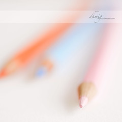 Have a gentle boost (dhmig) Tags: pink stilllife macro closeup pencil pencils creativity nikon energy colours dof bokeh details confidence boost colorpencils 50mmf28 softcolours nikond7000 dhmig dhmigphotography