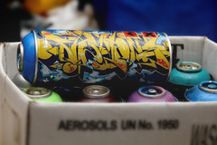 (annaliese.fields) Tags: light graffiti doors colours spraypaint tins thepixies crooklyn whereismymind ironlak