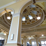 The launch was held in the beautiful Edinburgh Central Library