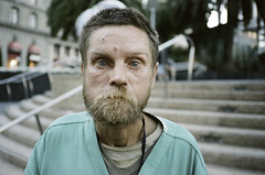 Robby (Terry Barentsen) Tags: sanfrancisco california street portrait film 35mm contaxt3 moneyshot kodak400uc 2011 1photo