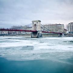 _MG_1217 (Flo Photo) Tags: city bridge winter snow france ice canon photo lyon hiver neige scape flo fleo