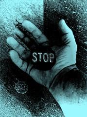 Dire Warning (-Jeffrey-) Tags: hand fingers stop digits photofx iphoneography tiffenphotofx picturewizard picturewizardedit