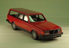 240 ESTATE GL / POLAR / SUPER POLAR (MINIJCW230) Tags: finland toys volvo finnland sweden plastic polar 240 emek 245 promotionalmodel stahlberg
