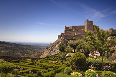 Castelo do Marvo (Rui Pedro Vieira) Tags: travel castle portugal rock architecture garden landscape arquitectura ancient paisagem medieval jardim castelo granite viagem historical alentejo fortress montanha slope marvo rocha falsia granito altoalentejo castelodemarvo historicalvillage escarpa flickraward ilustrarportugal parquenaturaldaserradesomamede mygearandme mygearandmepremium mygearandmebronze mygearandmesilver mygearandmegold mygearandmeplatinum ringexcellence rubyfrontpage