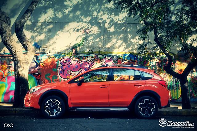 urban graffiti subaru xv crosstrek