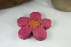 Wooden Toy Flower (kris10dale) Tags: