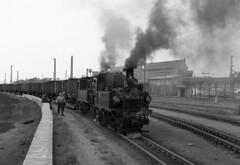 freight departure Oschatz (RhinopeteT) Tags: germany railway steam east oschatzmugeln