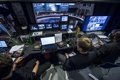 Behind the scenes: the control room at the Summit