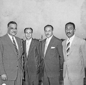 Nasser , Zakaria and Sadat