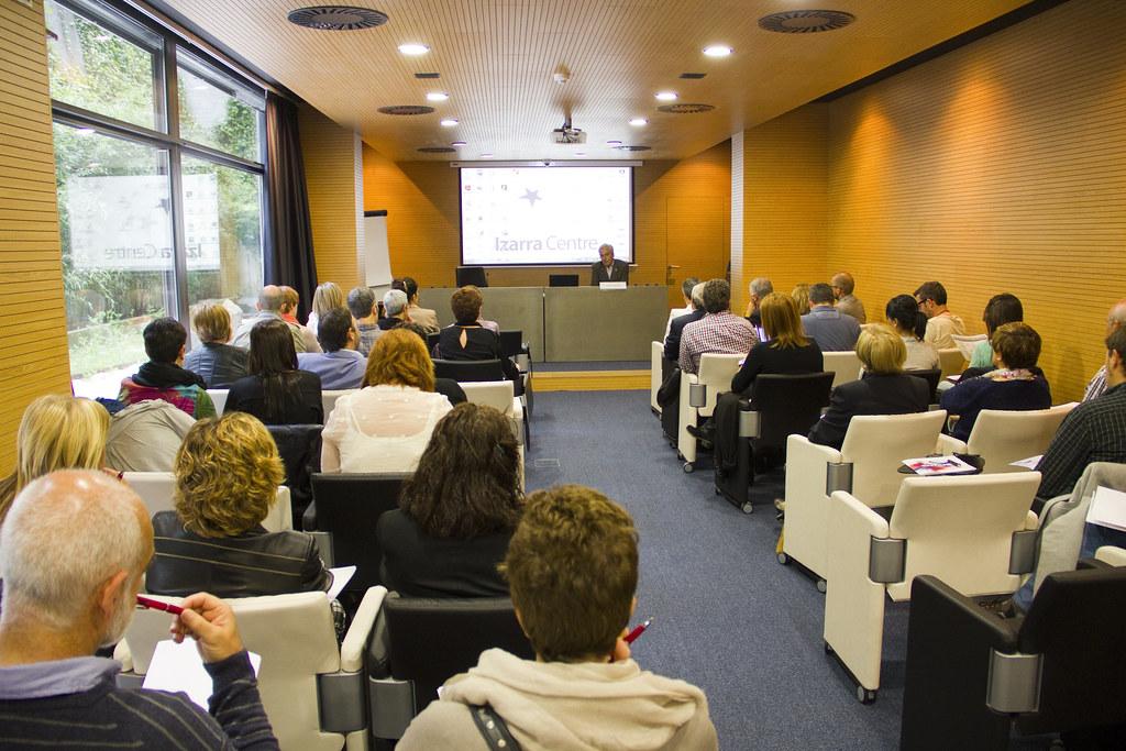 Jornada de Teknika en Izarra Centre