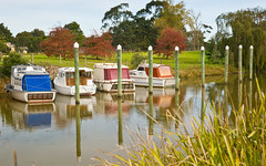 Port of Sale, Central Gippsland (laurie.g.w) Tags: water port river boat sale jetty central victoria wharf gippsland