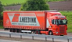 SCANIA R440 - J.HEEBINK Netherlands (scotrailm 63A) Tags: netherlands european trucks foreign lorries