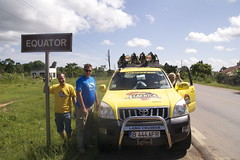 444 AFR and Team on Uganda Equator