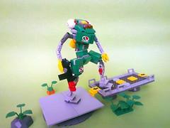 Octon Security Mech 02 (JPascal) Tags: lego space security mecha mech drone octan