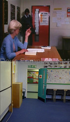 Late again (Dave S Campbell) Tags: gregorys girl gregorysgirl bill forsyth film thenandnow locations then now abronhill high school brittish movie movielocations johngordonsinclair clairgrogan susan scotland robertbuchannan setjetting set jetting