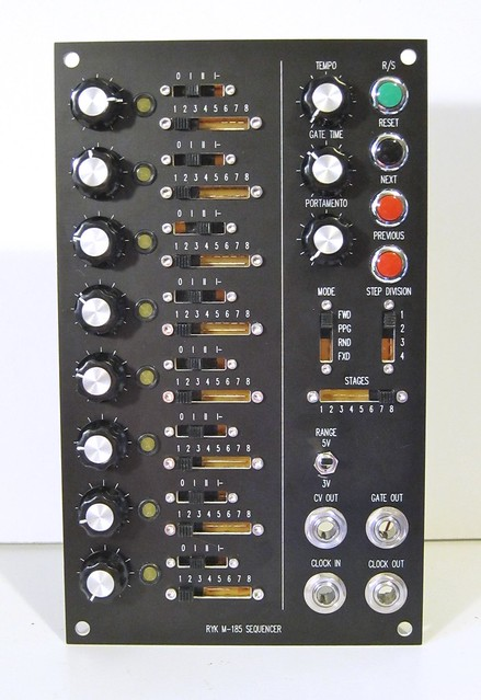 Ryk m185 Sequencer front