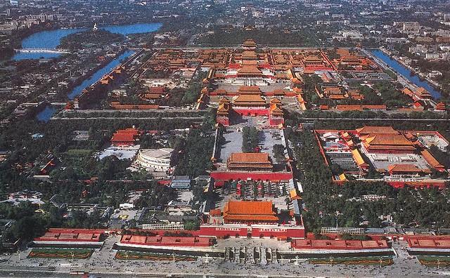 紫禁城全景