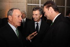 11.05.31  Macri, Boomberg y Kassab en la Cumbre del C40 contra el cambio climático
